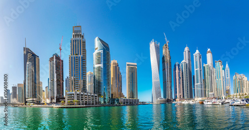 Recess Fitting Dubai Panorama of Dubai marina