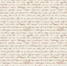 Hand Writing Note - Latin Text...