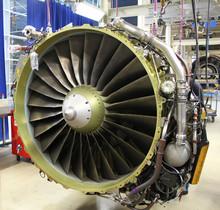 Jet Engine During Maintenance ...