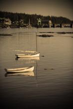 Boats In Quaint Harbor
