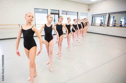 Ballet Dance Class Poster