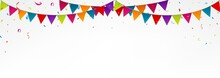 Birthday Bunting Flags, With C...