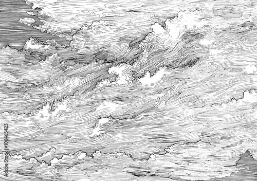 Fotografie, Obraz  Clouds FB