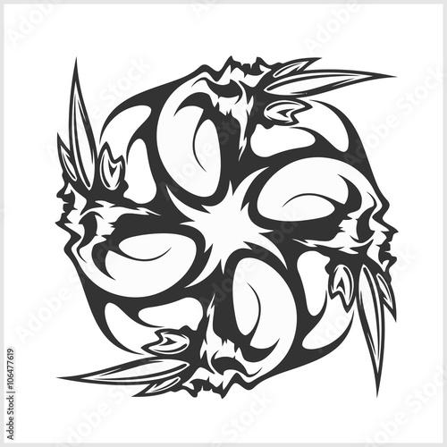 Skulls T Shirt Design Logos