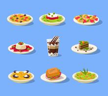 Italian Dish Set