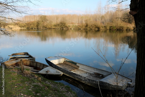 early spring and boats