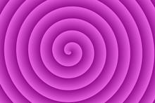 Violet Spiral In The Center