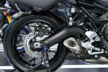 Disc Brake Of Motorcycle's Rear Wheel