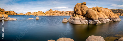 Canvas Prints Arizona Watson Lake in Prescott Arizona.