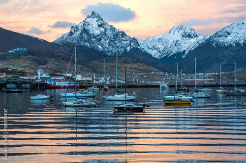 Valokuva  Port of Ushuaia, Tierra del Fuego, Patagonia, Argentina