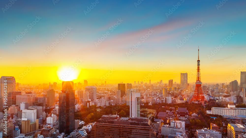 Fototapety, obrazy: Tokyo Tower
