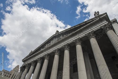 New York State Supreme Court building in Lower Manhattan