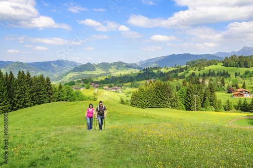 Fotografía  Wanderung im Westallgäu bei Steibis