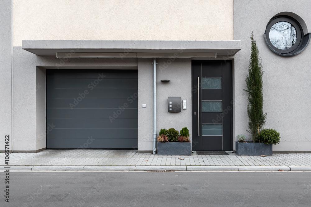 Fototapeta Wohnung Haustür Eingang