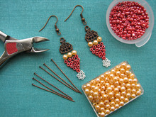Beads, Furniture And Tools For...