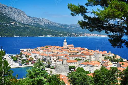 Fototapeta Corcula island, Croatia.