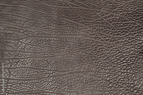Fotobehang Leder brown cow structure leather full background