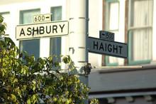 Haight - Ashbury Street Sign I...