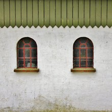 Traditional, Old Farm Windows,...