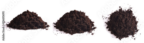 Fotografie, Obraz  pile of soil