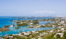 Bermuda's  Panorama With Boats