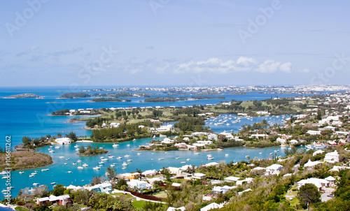 Photo Bermuda's  panorama with boats