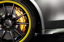 Part Of Modern New Wheel Car W...