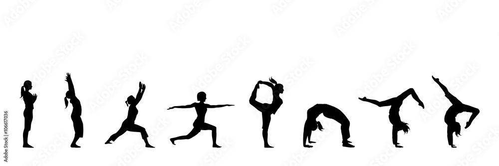 Fototapety, obrazy: yoga