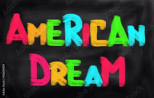 Photo  American Dream Concept