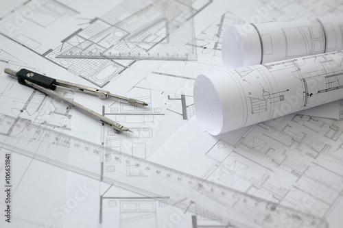 plany-budowy-tlo-architektury