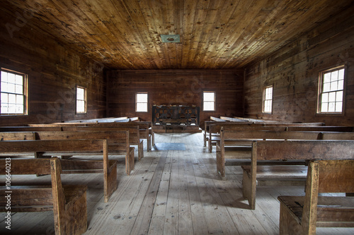 Fotografija Historical Smoky Mountain Baptist Church