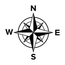 Compass Rose Or Windrose / Ros...