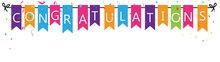 Congratulations With Bunting F...