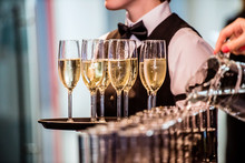 Waiter With Champagne