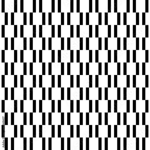 Geometric Fine Abstract Black And White Background Seamless