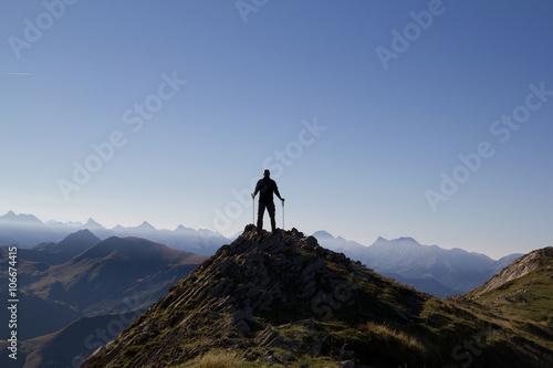 Ori peak summit , Navarra