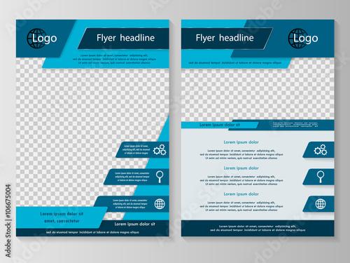Fototapeta Business brochure or cover obraz