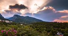 Mount Olympus In Greece