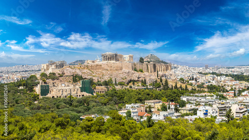 Photo Stands Athens Acropolis in Athens