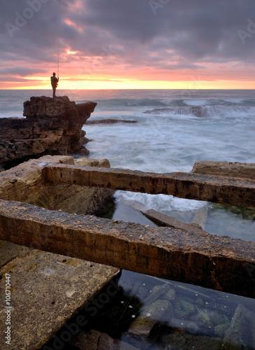 Fotografia ruins , shallow cable, Cascais, Portugal