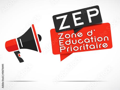 Photo  mégaphone : ZEP