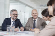 Germany, Munich, Businesspeople in meeting