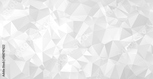Fotografie, Obraz  Triangular abstract background. EPS 10 Vector illustration.