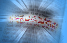 Bible Text I Am The Alpha And The Omega