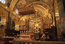 St. Johns Co-Cathedral, La Valletta, Malta