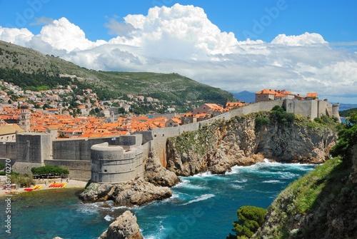 In de dag Mediterraans Europa Blick über Dubrovnik (1)