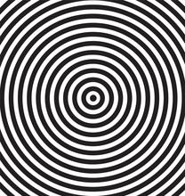 Hypnotic Vector Background.