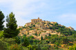 Bonnieux charming old small village and church the Provence regi