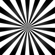 Black Color Burst Background A...