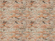 canvas print picture - brick wall